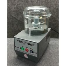 Robot Coupe R101B Food Processor with 2.5 Qt. Clear Polycarbonate Bowl - 3/4 hp*