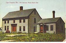 Cape Porpoise Maine Garrison House Built 1722 Colorful Pc Hugh Leighton Portland