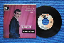CHARLES AZNAVOUR / EP BARCLAY 70315 / VERSO 9 LABEL 4 / BIEM 196.? ( F )