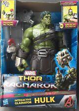 New listing Marvel Interactive Gladiator Hulk - Thor Ragnarok New Nib ages 4+