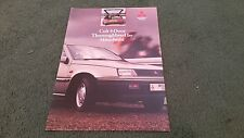 August 1988 / 1989 Model MITSUBISHI COLT 1500 GLX 5 DOOR - UK FOLDER BROCHURE