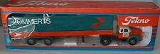 Tekno 860807  Scania Vabis 76 with LOMMERTS trailer in 1:50 scale rare!
