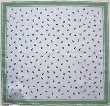 $150 Authentic DRIES VAN NOTEN 100% Silk Pocket Square Pochette Handkerchief
