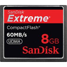 SanDisk Extreme 8GB 400x - CompactFlash 60MB/s UDMA