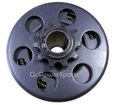 "Go-Kart M-B Clutch Centrifugal 10T 3/4"" bore 41/420 chain, 1041 with set screws"