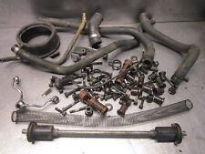 Yamaha 1985 VMX1200 VMAX Engine Parts Lot Nuts Bolts Hoses
