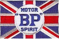 BP Motor Spirit iron on/sew on cloth patch   (ff)