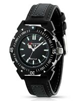New Mens Sector R3251197025 In Collection Expander Black Sport Watch
