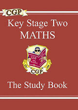 KS2 Maths Study Book: Study Book Pt. 1 & 2, CGP Books  VERY GOOD PAPERBACK  A21