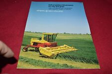New Holland 1100 1116 Windrower 1495 Haybine Mower Cond Dealer's Brochure YABE13