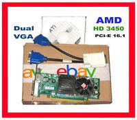 DELL Optiplex TOWER DUAL MONITOR PCI-E x16 Video Card. DUAL VGA adpter Driver CD