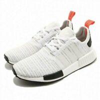 Men's Adidas NMD R1 BB9572 White/Red/Black Primeknit SZ 7-13 DS Boost USA PK