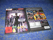 PC DVD Saints Row The Third The Full Package NEUF neuf dans sa boîte article Neuf dans son emballage d'