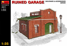 MiniArt 1/35 35511 Ruined Garage (WWII Military Diorama)