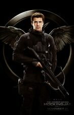 Hunger Games 3 Mockingjay original DS movie poster - D/S 27x40 - Adv  Gale