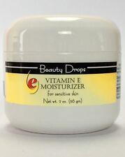 Beauty Drops Face Cream With Vitamin E Moisturizer For Sensitive Skin, 2 oz NEW