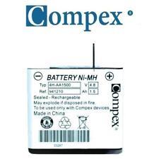 Batterie Compex originale 1.5Ah, ref 941210 avec protection thermique.