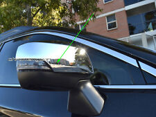 2 Pcs Chrome Side Rear View View Mirror Covers for Subaru Outback 5GEN 2014-17
