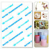 Water Slide Decal Paper A4 Inkjet Waterslide Transfer Paper 5/10/20PCS Pack Hot