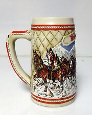 Budweiser Mug Stein Ceramarte Brazil 1985 Limited Edition A Series