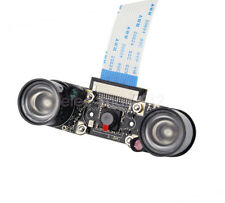 New Night Vision Camera Module 1080p 5MP w/ 2x Infrared Light for Raspberry Pi
