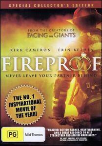 FIREPROOF (Kirk CAMERON Erin BETHEA Ken BEVEL) Firefighter Film DVD Fire Proof