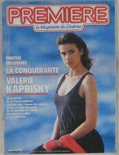 Revue Première n° 92 Novembre 1984 Valérie Kaprisky