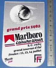 AUTO-COLLANT TENNIS PRO GRAND PRIX 1982 SC VICHY MARLBORO FFT