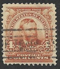 Mr B's U.S. Stamp Used #305 1903 - Garfield - Deep color! - Free Shipping!