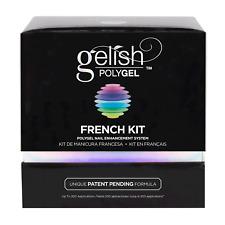 Gelish PolyGel Professional Nail Technician Enhancement French Kit On Sale