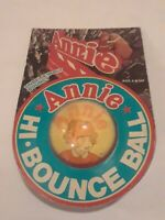 Vintage 1981 Little Orphan Annie Imperial Toy Corp Hi Bounce Ball New in Package