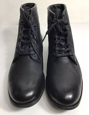 Frye Tyler Lac Up Ankle Soft Cognac Leather Boot Women's Size 9B Black