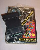 VINTAGE 1982 ATARI 2600 VIDEO GAME M NETWORK LOCK N CHASE IN ORIGINAL BOX COOL