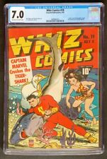 Whiz Comics #19 CGC 7.0 Fawcett Publications 1941 Captain Marvel