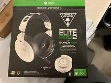 OB Turtle Beach Elite Pro 2 Gaming Headset + SuperAmp for Xbox One White