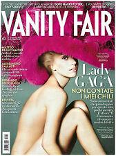 VANITY FAIR 40 ottobre 2012 LADY GAGA PARIS HILTON METCALFE NEMCOVA CALLAS SUDAN