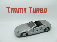 BMW Z1 SPORTS COUPE CONVERTIBLE IN METALLIC SILVER 1:38 SCALE