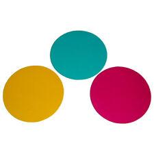 Par 36 Par-Can + Pin Spot Gel Filters 3x Round Coloured Gels Yellow Cyan Magenta