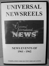 UNIVERSAL NEWSREELS 1961 - 1962 (DVD)