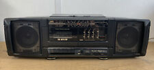 JVC Pc-90 vintage Boom Box 4 Band Radio And Cassette Tape Player SW/LW/MW/FM