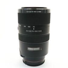 SONY 70-300mm F/4.5-5.6G SSM (SONY/Minolta A mount) #399