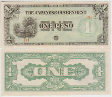 Philippines 1 Peso 1942 Pick 106a aUNC