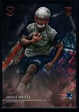 JAMES WHITE MINT PATRIOTS ROOKIE CARD RC SP 2014 TOPPS VALOR NEW ENGLAND