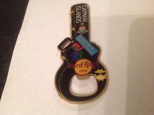 Cayman Islands Hard Rock Cafe Bottle Opener Magnet. Guitar Case shape.