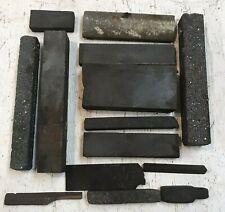 Vintage Machinist Lot Small Sharpening Stones, Gunsmithing Jewelry