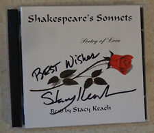 AUTOGRAPHED - 'Shakespeare's Sonnets: Poetry Of Love' - Stacy Keach [2CD]
