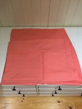 Girls single bed peach sheet set