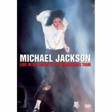 Michael Jackson Live In Bucharest - The Dangerous Tour Brand New Sealed DVD