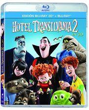 HOTEL TRANSILVANIA 2 2ª 3D 2D BLURAY BLU-RAY NUEVO DIBUJOS ANIMADOS INFANTIL