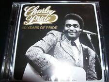 CHARLEY PRIDE 40 Years Of Pride (Australia) Very Best Of 2 CD – New